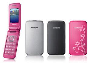"Samsung C3520 Flip GSM 1.3 MP Camera 2.4"" Screen Original Unlocked CellPhone"