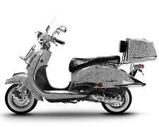 Motorroller Retro Roller Motorrad Scooter 125 CCM 80 KmH ZEBRA EASYCRUISER NEU