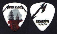Metallica James Hetfield Krakow 4/28/18 Guitar Pick - 2018 WorldWired Tour