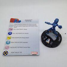 Heroclix Avengers vs X-Men set Danger #015 Limited Edition figure w/card!