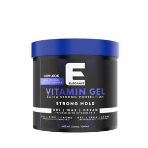 New Elegance Vitamin Gel Strong Hold,1000ML/33.8 OZ