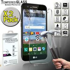 2 Pack Tempered Glass Screen Protector Cover For LG Grace LTE
