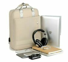 Waterproof 15.6 Inch Laptop Backpack Bag Pink USB Bagpack Large Capacity Travel