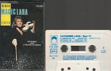K7 AUDIO / TAPE--CATHERINE LARA--THE BEST OF MAGIC LARA / 12 HITS