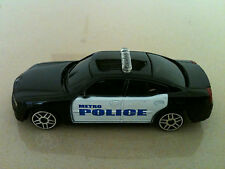 "MAISTO 2006 DODGE CHARGER METRO POLICE CAR DIE CAST 3"" L 1:64"