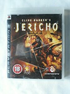 Clive Barkers jericho Playstation 3 Game Complete PS3 FREE SHIPPING