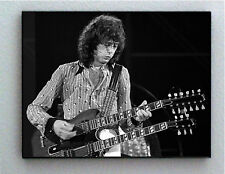 Rare Framed 1972 Jimmy Page Vintage Photo. Giclée Print