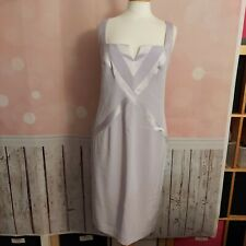 John Charles - Mother Of The Bride Dress & Longline Jacket, Lilac - UK 16 vgc