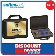 Sutton Tools 6Pc Cobalt Bi-Metal Holesaw Set 100 Year Anniversary - H105S100