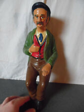 Rare ancienne statue statuette Figurine Santon 32 cm Vieillard
