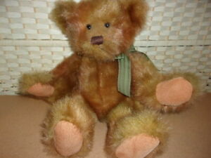 "Russ Berrie "" Brightley "" 16"" Jointed Teddy Bear."