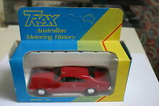 1/43 HOLDEN MONARO HK GTS RED COUPE BY TRAXX HARD TO FIND MODEL DISPLAY BOX