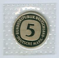 BRD  5 DM 1975 DFGJ - 1990 DFGJ  stempelglanz oBH  komplett (64 Münzen!)