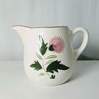 VTG Stangl Pottery Thistle 24oz Pitcher  Farmhouse French Country Shabby Chic