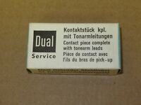Dual 231992 Contact Piece with tonearm leads NOS made in Germany