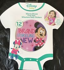 Disney Baby Minnie Mouse Mikestone Belly Stickers