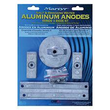 Anode Kit Aluminum Salt Water  Mercury 135-200hp V6 Verado 135-200hp 4 cyl