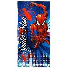 Toalla de Playa Esponja Algodón Marvel Spiderman Piscina Niño 3163