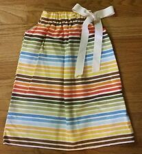 NEW BABY Girls Size 6-9 MONTHS Boutique Lolly Wolly Doodle STRIPED Dress Fall