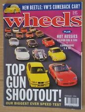 Wheels Feb 1994 Holden Commodore S & SS Ford Falcon XR6 & XR8 Fiat Coupe Turbo