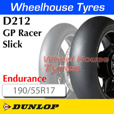 Dunlop GP Racer D212 Slick 190/55R17 Endurance TL Rear