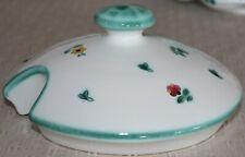 Gmundner Keramik Deckel für Suppentop, Streublumen, gebraucht,