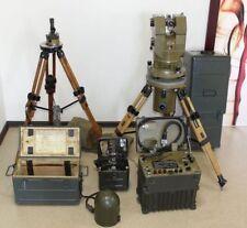 Russian Telescope Binoculars Wood Tripod Gyrocompass 1G17 Gyrotheodolite