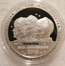 1 oz .999 silver proof Apollo 11 Crew Neil Armstrong Buzz Aldrin Michael Collins