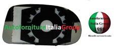 PIASTRA SPECCHIO RETROVISORE C/VETRO SX FIAT BRAVA 95>01 DAL 1995 AL 2001