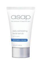 ASAP Daily Exfoliating Facial Scrub 50ml Authentic Promote Smooth Skin Renewal