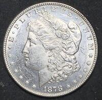1878 Morgan Silver Uncirculated Dollar 7TF VAM 82 Double Date & Stars (708)