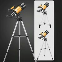 Astronomical Telescope 150 x 70mm Refractive Eyepieces Tripod Space Star Moon