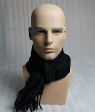Realistic Fiberglass Male Mannequin Head For Wig And Sunglasses Display