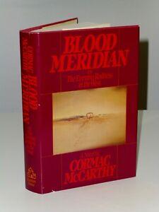 1st Print Blood Meridian Cormac McCarthy Random House 1985 US Magnum Opus