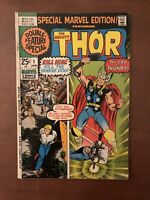 Special Marvel Edition #1 (1971) 7.5 VF Thor Bronze Age Comic Book Kirby Loki