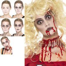 Zombie Make Up Kit FX Halloween Fancy Dress Costume Face Paint Female