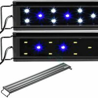 "AQUANEAT LED Aquarium Light with Night Mode Freshwater 20""- 24"" Blue & White"