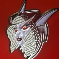 Sylvanas Windrunner Pin Warcraft Gaming Enamel Retro Metal Brooch Badge Lapel