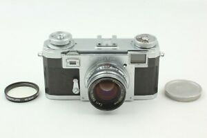 🔸Almost MINT🔸 Contax Zeiss Ikon IIa Color Dial Carl Zeiss Sonnar 50mm f2 Japan