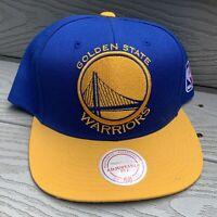 Golden State Warriors Baseball Hat Snapback Cap Blue NBA Basketball Bridge Bay
