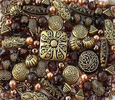Bronze Black Jewellery Making Beads Mix - Sold as Seen!