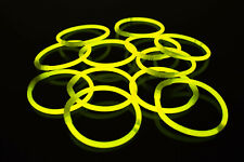 DirectGlow 200ct Yellow Glow Bracelets Glow in The Dark Party Favors