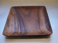 Holzteller Teller Schüssel Schale Tablet Larp Akazienholz Mittelalter 20cm Natur