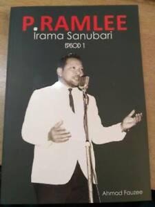 Photo P. ramlee Saloma Film Book Malaysia Singapore Music irama Sanubari ramlee