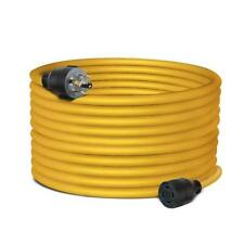 Generator Extension Power Cord 40 Ft 4 Prong Power Cable 30 Amp Adapter Plug