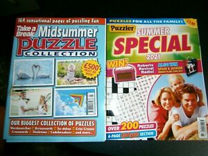 Take A Break Midsummer Puzzle Collection 2021 & Puzzler Summer Special 2021