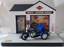 Harley-Davidson Service station Display & Ultra Servi-car Die cast  Motorcycle