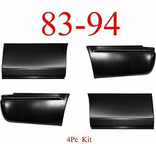 4Pc 83 94 Chevy S10 Blazer Rear Lower Quarter Set With Corner, 2 Door Only!