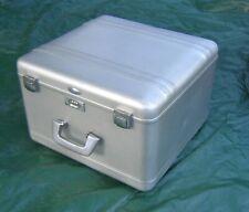 Halliburton Zero aluminum traveling storage luggage case Vintage camera video