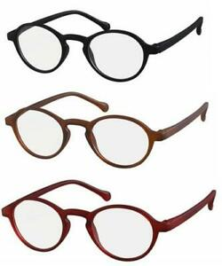 Mens Womens Round  Reading Glasses  R1